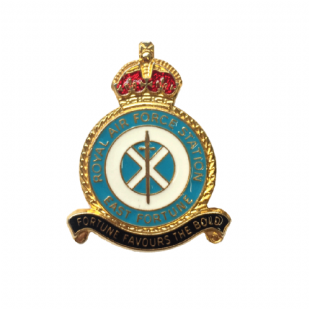 Royal Air Force RAF Station East Fortune Lapel Badge